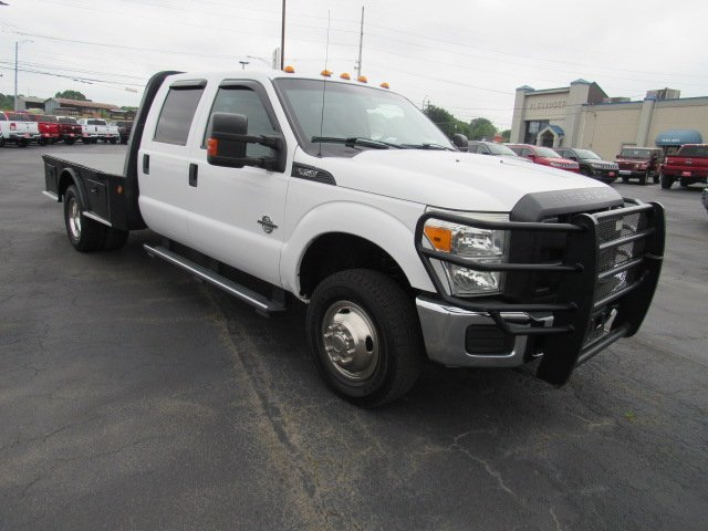 Pre-Owned 2015 Ford Super Duty F-350 DRW XL/Flat Bed